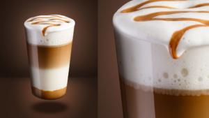Cafe Latte Closeup